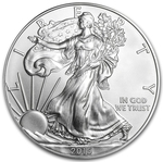 2015 1 oz American Silver Eagle Coin BU - AIR-TITE HOLDER