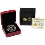 2015 Canadian 1 oz Silver Imposing Alpha Wolf Colorized PR Coin
