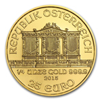 2015 1/4 oz Austrian Philharmonic Gold Coin