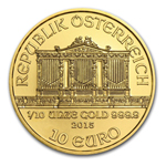 2015 1/10 oz Austrian Philharmonic Gold Coin