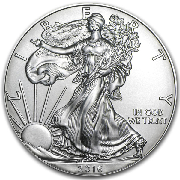 2016 Silver Eagles Uncirculated