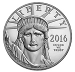 2016-W 1 oz Proof Platinum American Eagle (w/Box & COA)