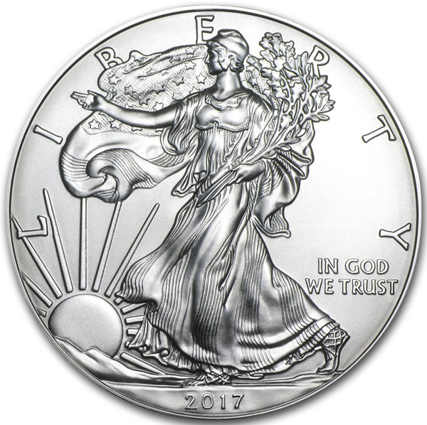 2017 Silver Eagles Uncirculated