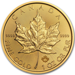 2017 1 oz Canadian Gold Maple Leaf Coin