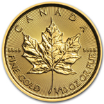 2017 1/10th oz Canadian Gold Maple Leaf Coin