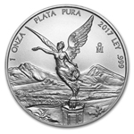 2017 1 oz Mexican Silver Libertad Coin BU Ships May 31st