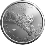 2017 Canada 1 oz Silver Predator Series Lynx Ships Feb 24th