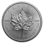 2017 1 oz Canadian 9999 Silver Maple Leaf Coin