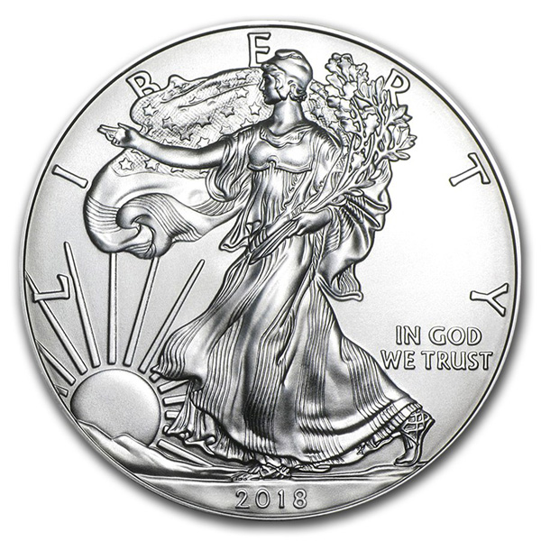 2018 Silver Eagles Uncirculated