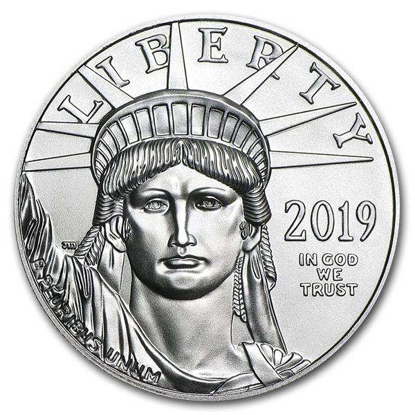 2019 1 oz Platinum American Eagle Coin BU