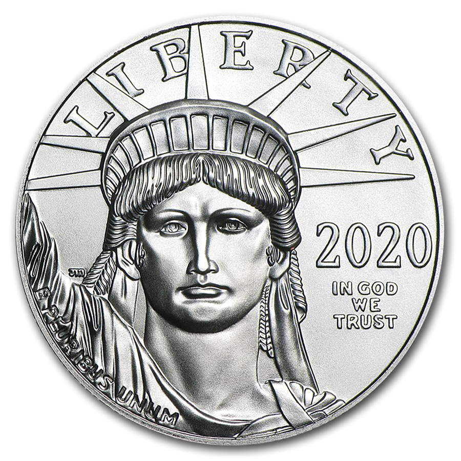 2020 1 oz Platinum American Eagle Coin BU