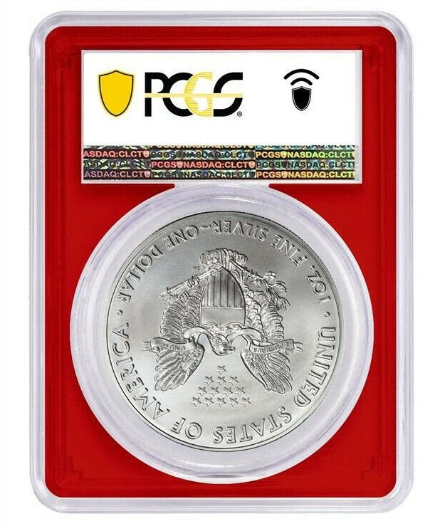 2020 (S) Struck At San Francisco Silver Eagle PCGS MS69 FS Red L