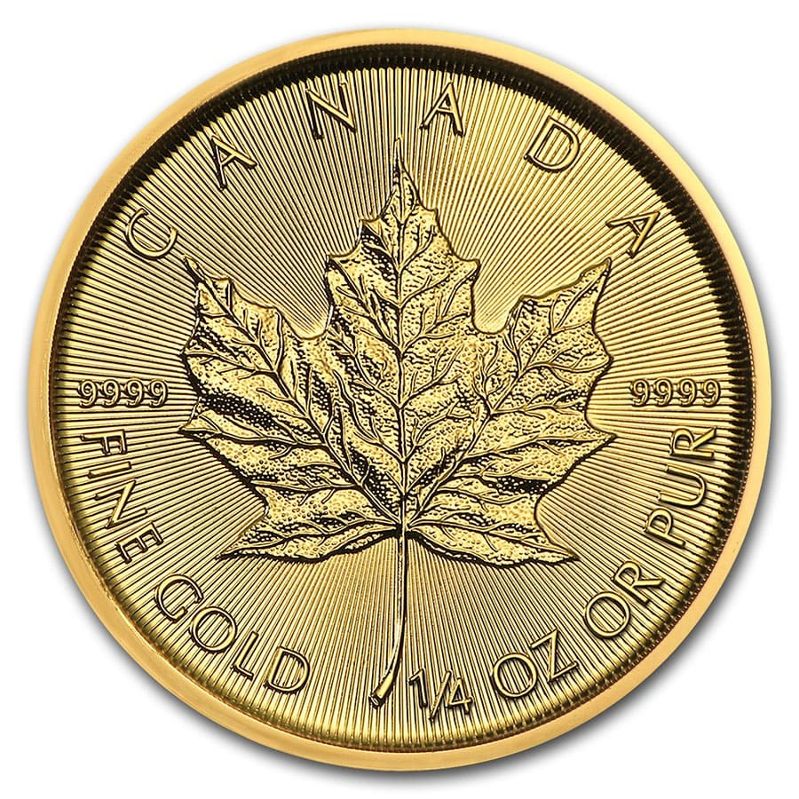 2020 1/4 oz Canadian Gold Maple Leaf Coin
