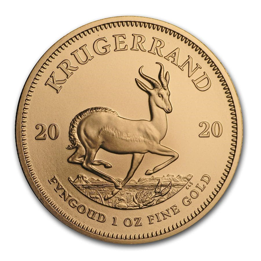 2020 South African Krugerrand 1 oz Gold Coin