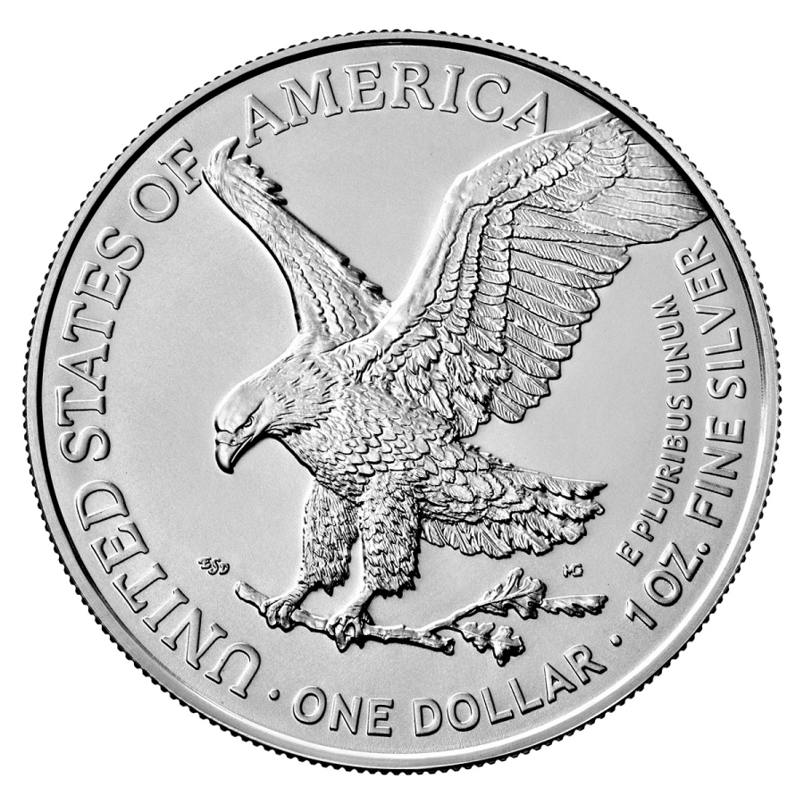 2021 1 oz American Silver Eagle Coin Type 2 - BU