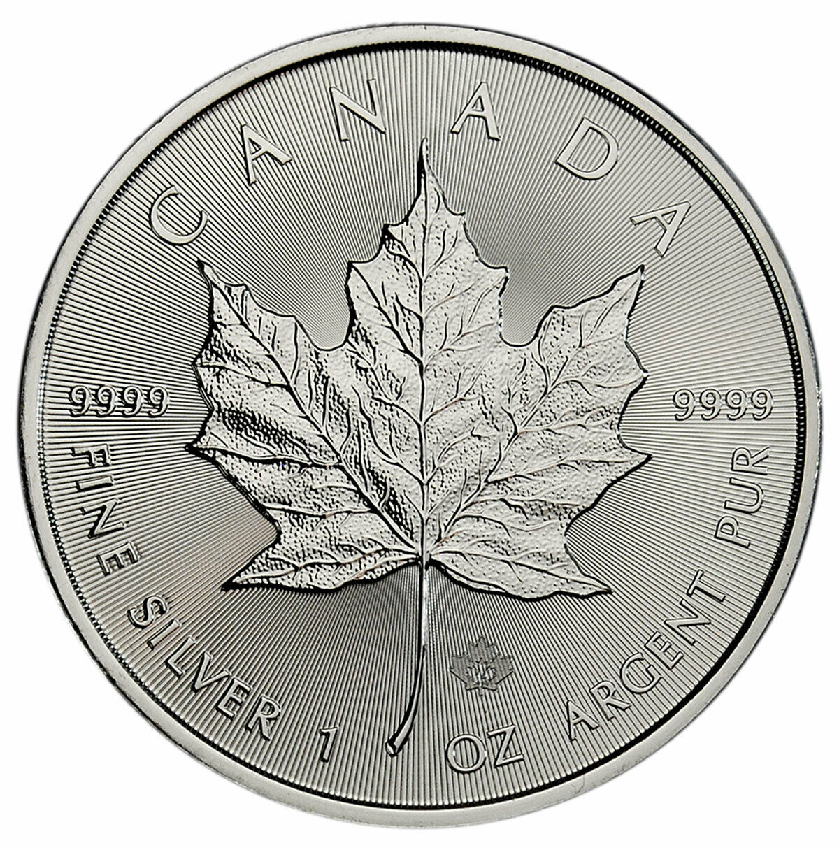 2021 1 oz Canadian 9999 Silver Maple Leaf Coin BU