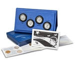 2014 4-Coin 50th Anniv Kennedy Proof Half Dollar Set (w/COA)