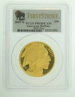2009-W 1 oz Proof Gold American Buffalo PCGS PR69 DCAM FS