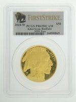 2010-W 1 oz Proof Gold American Buffalo PCGS PR69 DCAM FS