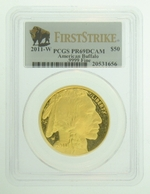2011-W 1 oz Proof Gold American Buffalo PCGS PR69 DCAM FS