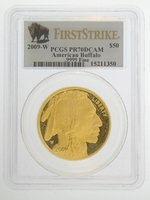 2009-W 1 oz Proof Gold American Buffalo PCGS PR70 DCAM FS