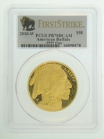 2010-W 1 oz Proof Gold American Buffalo PCGS PR70 DCAM FS