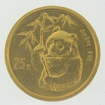 1995 1/4 Ounce Chinese Gold Panda Coin Not Sealed