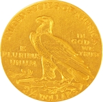 $2.5 Gold Indian Head Eagle Coin Random Year - Click Image to Close