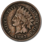 Indian Head Cents 50 Cent Roll From 1900-1909 Average Circulated