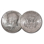 1964 Kennedy Half Dollar 90% Silver 1 Coin Brilliant Uncir.