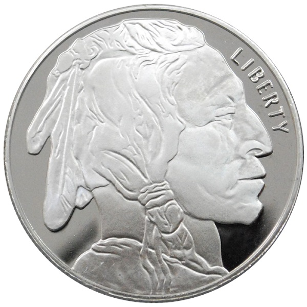 1 oz Silver Buffalo Round - Mason Mint (MM)