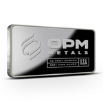 10 oz Silver Bar From OPM 999 10 Troy Ounce Fine Silver