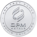 1 oz Silver Round Coin From OPM 999 1 Troy Ounce Fine Silver