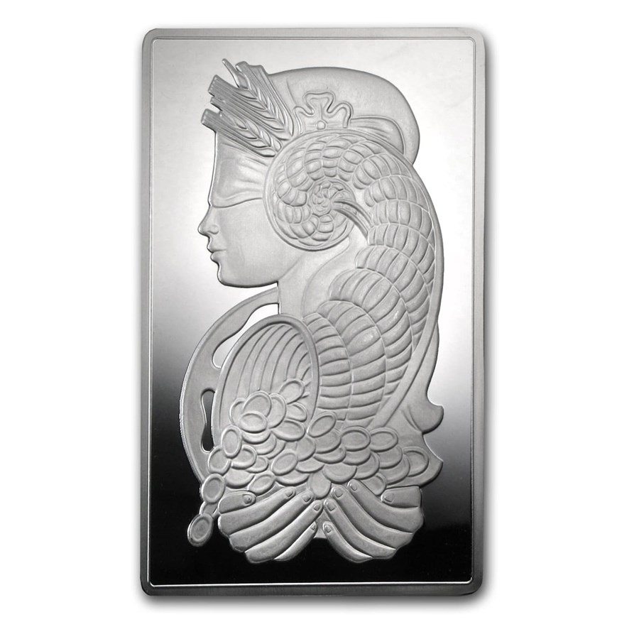 10 oz Silver Bar - PAMP Suisse Fortuna - In Capsule w/Assay