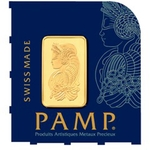 1 Gram Divisible PAMP Suisse MULTIGRAM Gold Bar