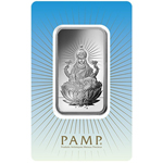 1 oz PAMP Suisse Silver Bar - Lak(in Assay) .999 Fine