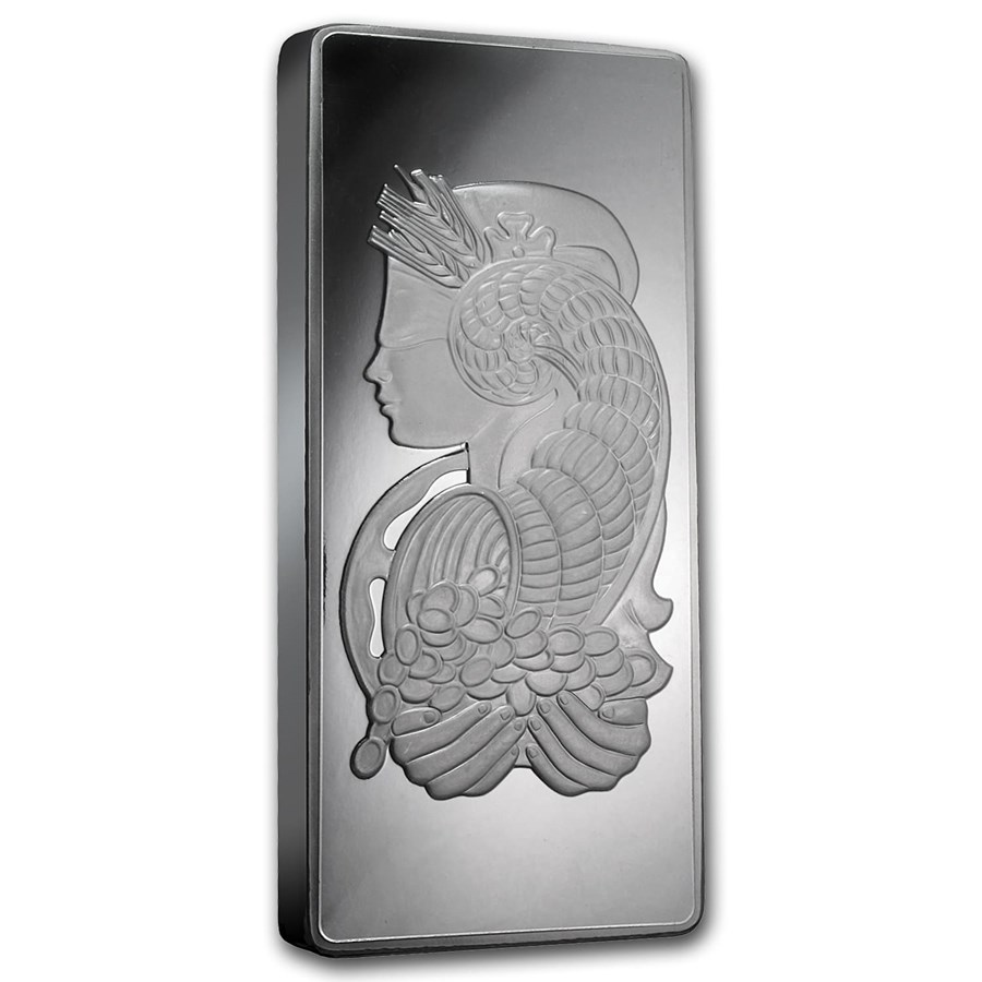 Silver Bar 500 Grams (1/2 Kilo) PAMP Suisse Fortuna - In Capsule