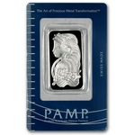 1 Ounce Pamp Suisse Platinum Bar 999 Fine With Assay