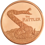 1 AVDP oz The Rattler Copper Round