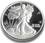 1/4 oz Silver Walking Liberty Round 999 Fine Silver