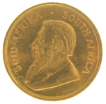 1974 1 oz Gold South African Krugerrand Coin