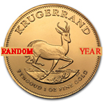 Random Year - 1 oz Gold South African Krugerrand Coin