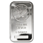 1 oz Silver Sunshine Mint Bar 999 Fine Silver