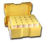 Empty Yellow Monster Box For Silver Maple Leaf Coins w 20 Tubes