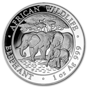 African Wildlife Series Silver Coins