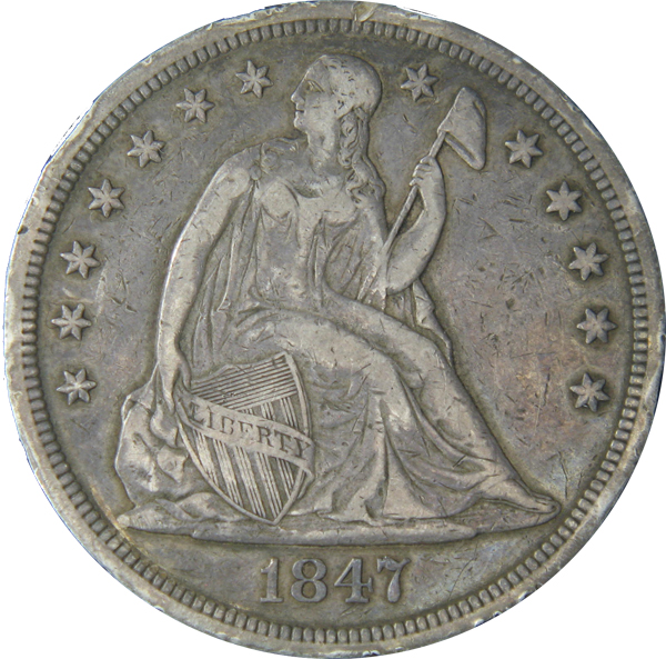 Seated Liberty Dollars ( 1840-1873 )
