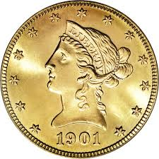 $10 Liberty Gold Coins 1838-1907