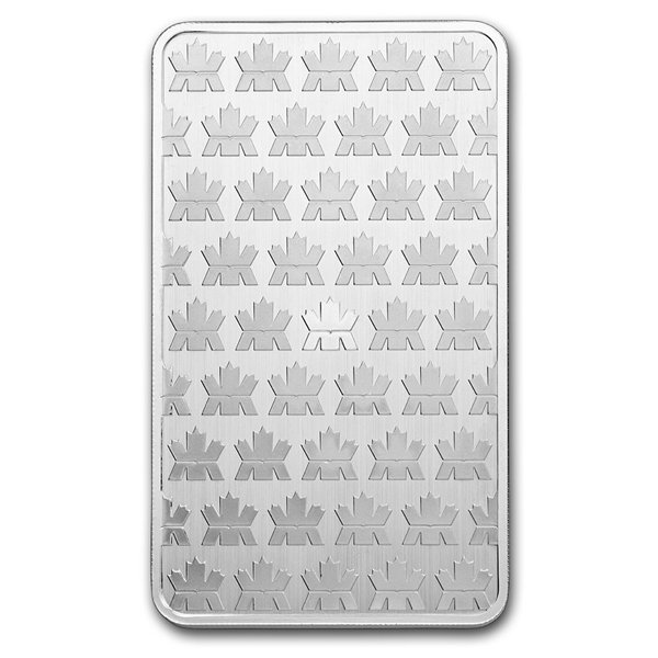 10 oz RCM Silver Bullion Bar 9999 Fine Silver