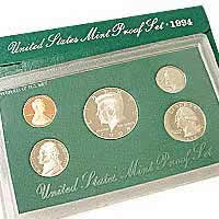 1994 US Mint Proof Set Coins - Click Image to Close