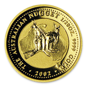 2002 1/20 Ounce Australian Gold Nugget
